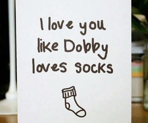 dobby, harry potter, and love image