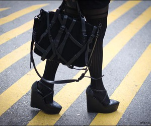 alexander wang, fashion, and street style image