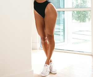 convers, leggs, and sneakers image