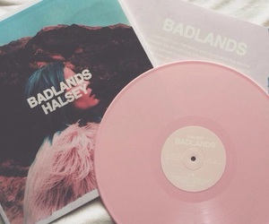 halsey, pink, and badlands image