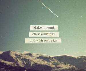 stars, quotes, and wish image