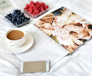 coffee, FRUiTS, and magazine image