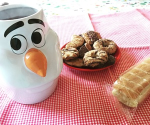 biscuits, breakfast, and chocolate image