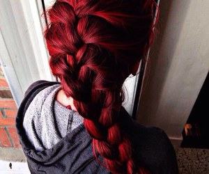hair, red, and beautiful image