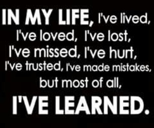 life, lost, and mistakes image