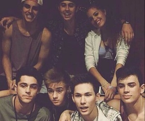 magcon, nash grier, and hayes grier image