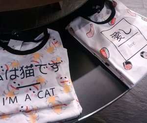 cat, kawaii, and pull & bear image
