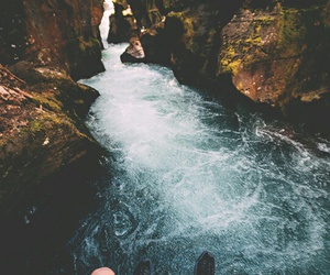 adventure, water, and landscape image