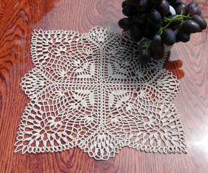 etsy, crochet home decor, and lace doily image