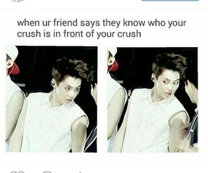 exo, xiumin, and crush image