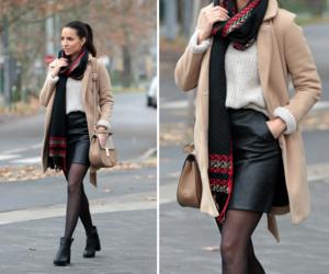 coat, style, and fashion image