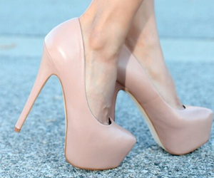 Nude, pretty, and shoes image