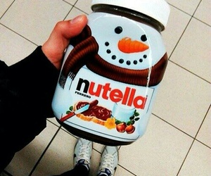 nutella, snowman, and christmas image