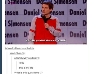 funny, daniel simonsen, and tumblr image