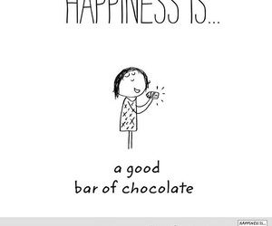 chocolate, happiness, and happy image