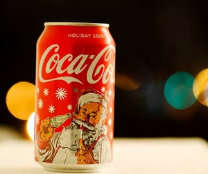 christmas, coca cola, and santa image