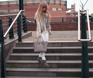 blonde, fashion blogger, and girl image