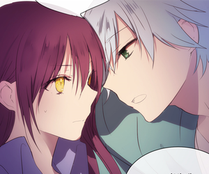 anime, anime girl, and anime boy image