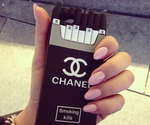 chanel, nails, and case image