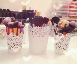 makeup, Brushes, and decoration image