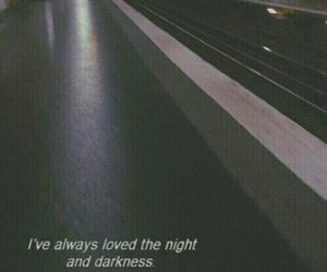 night, Darkness, and sad image