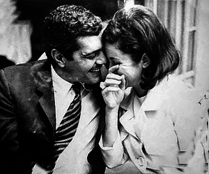 عمر الشريف, فاتن حمامة, and love image