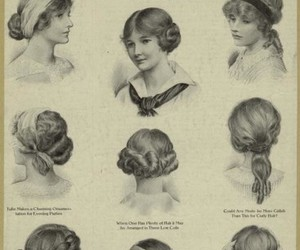 hair, vintage, and hairstyle image