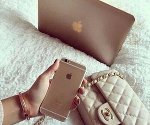 iphone, apple, and chanel image