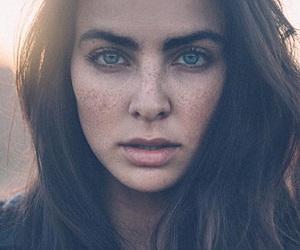 amazing, green eyes, and people image