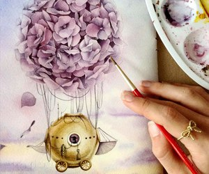 art, draw, and picture image