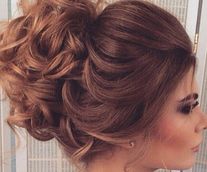 beauty, brunette, and curls image