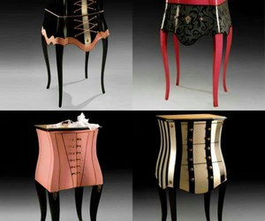 decoration, vintage, and corselet image