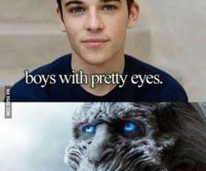boy, eyes, and haha image
