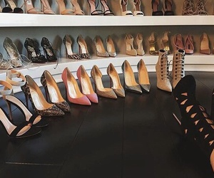 shoes, heels, and kylie jenner image
