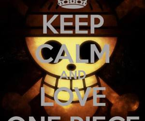 keep calm, one piece, and manga image