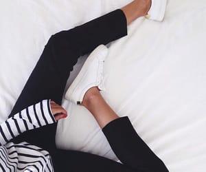 fashion, black, and white image