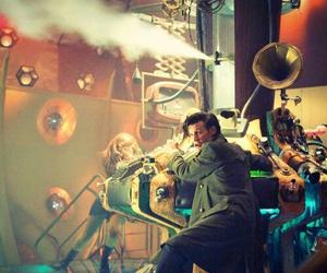 doctor who, matt smith, and tardis image