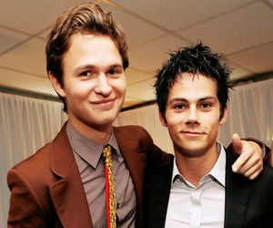 ansel elgort, teen wolf, and dylan o'brien image