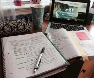 book, study, and studyspo image