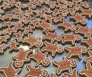 christmas biscuits image