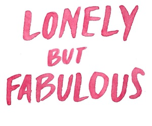 fabulous, pink, and lonely image