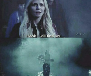 once upon a time, captain swan, and quote image