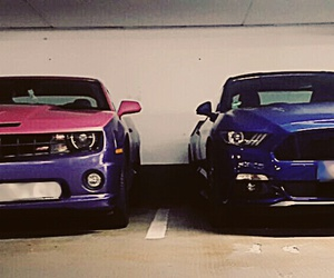 camaro, chevrolet, and ford image