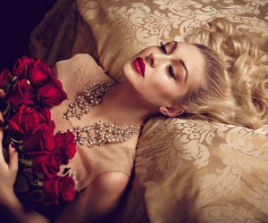 red roses and rose image
