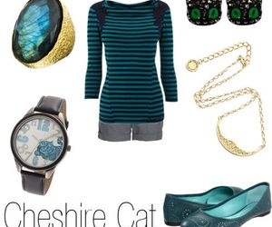 alice in wonderland, Cheshire cat, and fashion image