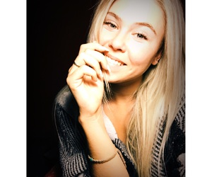 blond hair, nails, and blonde image