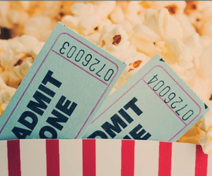 popcorn, food, and movies image