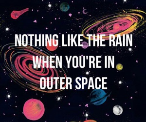 Lyrics, outer space, and 5sos image