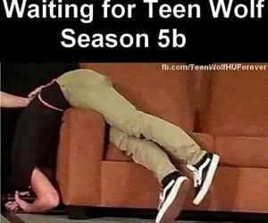 fans, waiting, and teen wolf image