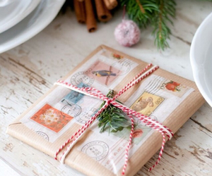 christmas, gift, and Letter image
